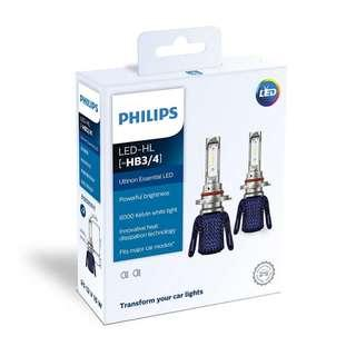 Philips Ultinon Essential LED Car Headlight Bulb HB3 HB4 HB3/4