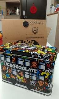 A bathing ape x chocoolate 錢箱/儲物盒