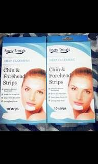 Chin & forehead strips