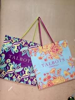Talbots - Paperbags