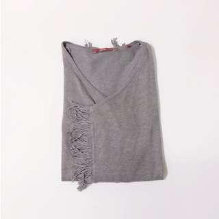 Esprit Fringe Cotton Cardigan • Size XS - S