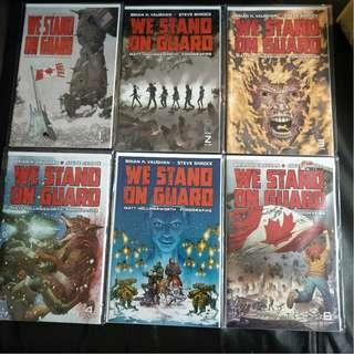 Image Comic We Stand on Guard #1-6 (Complete Series) VF/NM by Brian K Vaughan & Steve Skroce !