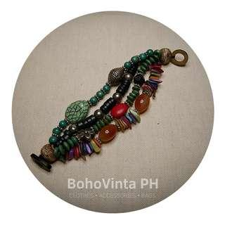 Bracelet for sale, bohemian, gypsy, festival, and vintage accessories