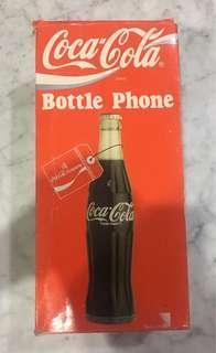 Vintage NOS Coca Cola Bottle Phone