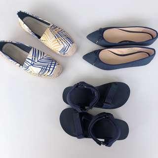 GU Japan and Vincci shoes