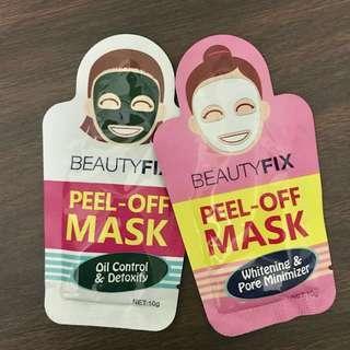 Peel Off Masks - Beauty Fix