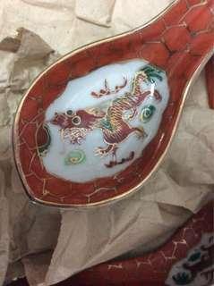 🚚 Vintage porcelain spoons (28pcs)