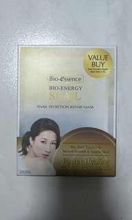 4pcs Bio-essence bio energy snail mask