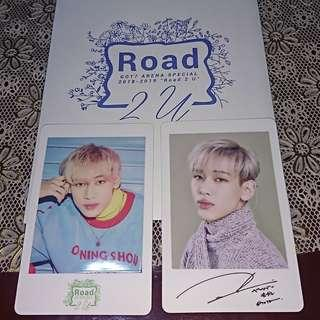 GOT7 ROAD 2 U JAPAN TOUR PHOTOCARDS (BAMBAM)