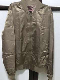 Champagne Gold Satin Jacket