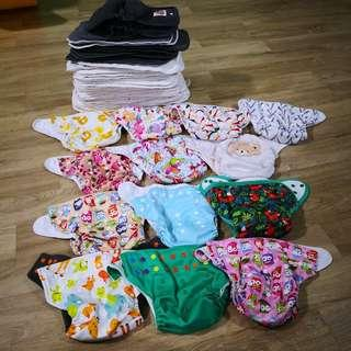 🚚 Bundle of Baby Cloth Diapers
