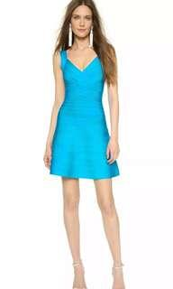 Herve Leger Blue dress