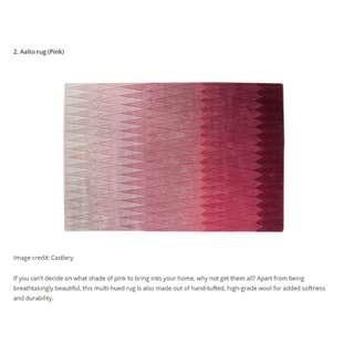 New Castlery Aalto Pink Rug