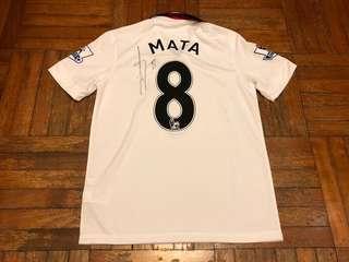 曼聯14-15作客Mata連簽名