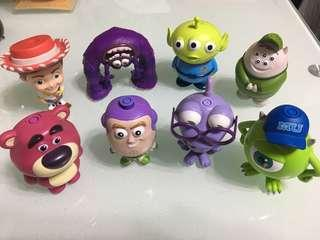 7-11公仔 Toys Story & Monster University