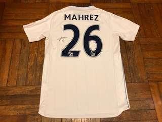 李斯特城16-17作客Mahrez連簽名
