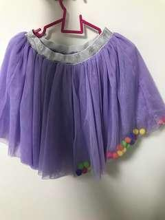 🚚 Purple Tutu Skirt 5-7 year old