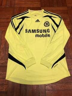 Chelsea 07-08 Away LS Player Issue Formotion 車路士