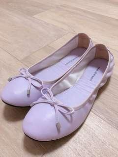 (可議價) Maud Frizon 紫色魷魚平底鞋