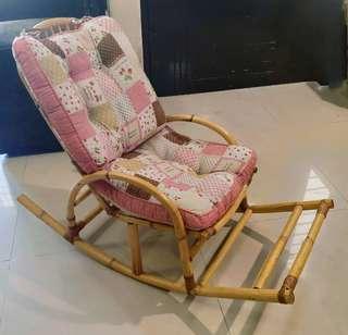 Rattan Rocking Chair for Children