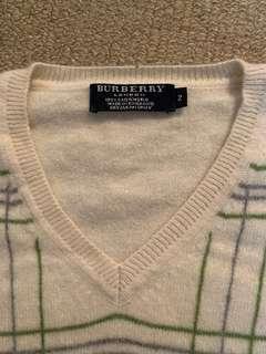 Burberry London 100% cashmere
