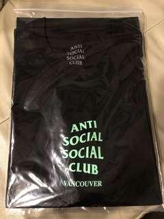 WTS Anti Social Social Club Vancouver Tee Size L