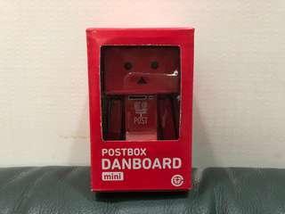 最新 紙箱人 阿愣 Danboard mini 日本郵便箱 Postbox 版本 眼睛會發光 ダンボー 日本郵便局限定