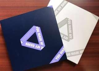 [WTS] SEVENTEEN UNSEALED YMMD ALBUMS AND INSERTS