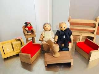 Wood Doll Accessories #5