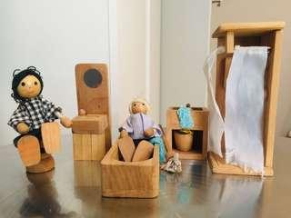 Wood Doll House Accessories #6