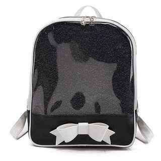 Black transparent bag (itabag)