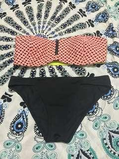 F21 & Uniqlo Two Piece Swimsuit