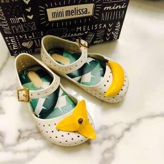 🚚 Mini Melissa Shoes Furadhinha USA 7