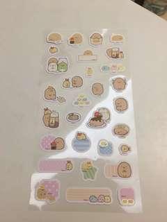Sumikko gurashi sticker 角落生物 貼紙
