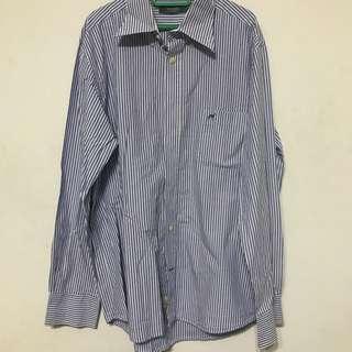 Sacoor brothers stripe shirt