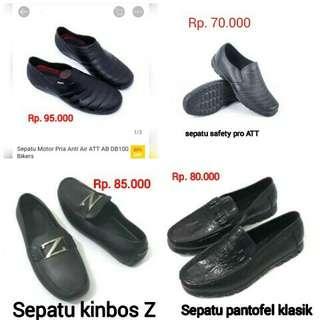 Varian Sepatu pantofel pria