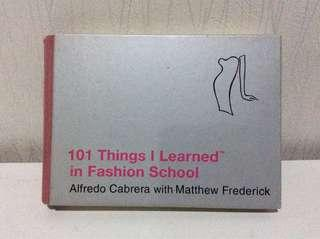101 things i learned in fashion school (full english) / buku fashion