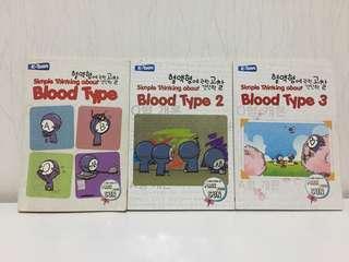 Komik golongan darah (simple thinking about blood type)