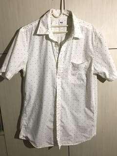 波點短袖恤衫
