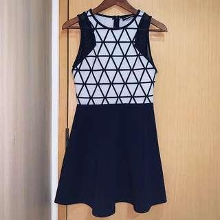 SB Geometric Print Dress