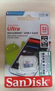32GB Micro SDHC Card