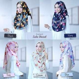🚚 PO Hijab instant sala hazel