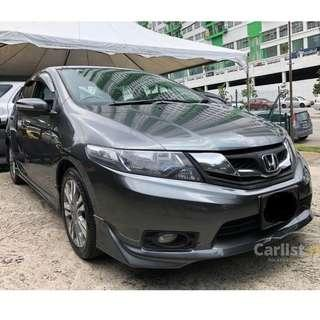 2013 Honda City 1.5 E (A) One Owner Leather Seat Modulo Bodykit