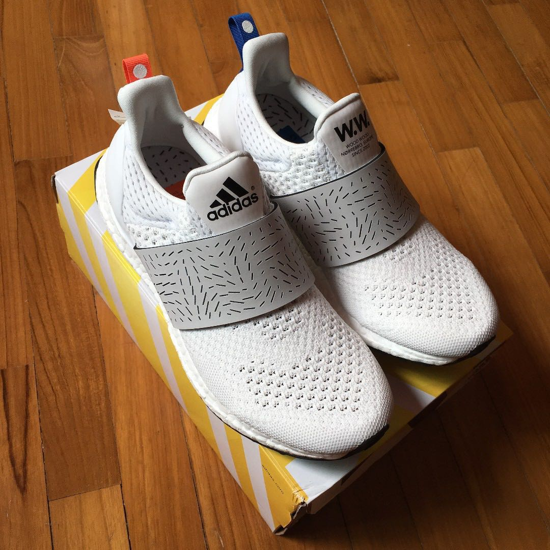 pretty nice f3e31 38d32 Adidas Consortium x Wood Wood Ultra Boost Women (White)