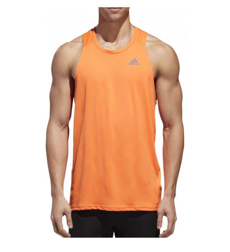 buy new authentic united states ADIDAS Energy Running Climacool Tank Top for Men on Carousell