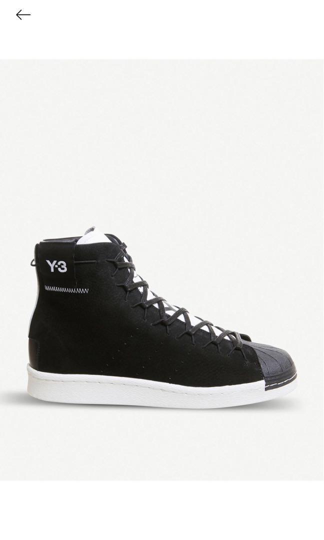Adidas Y3 high cut trainers, Luxury