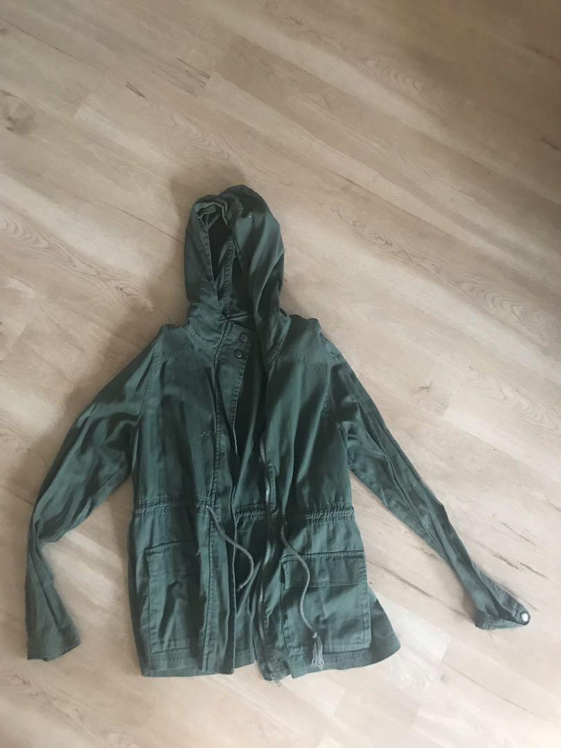 Army green jacket khaki
