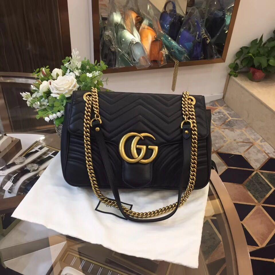 f58d5a15c Authentic Pre-loved Gucci Marmont Medium Shoulder Bag on Carousell