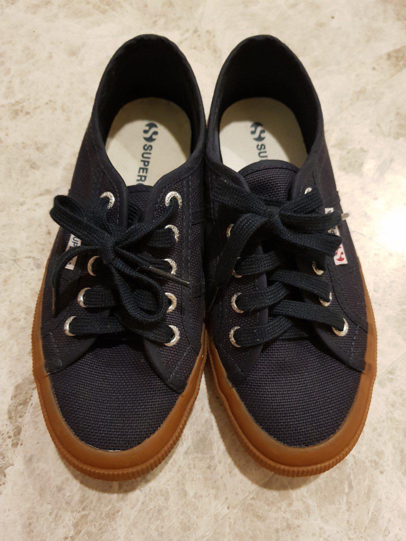 895c4c2ced Authentic Superga 2750 Classic Canvas Sneaker Navy Gum, Women's ...