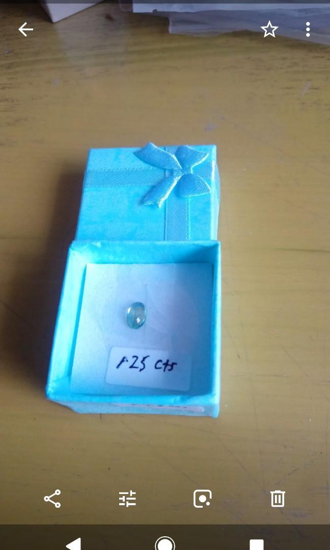Blue - Green Sapphires gemstones, Vintage & Collectibles